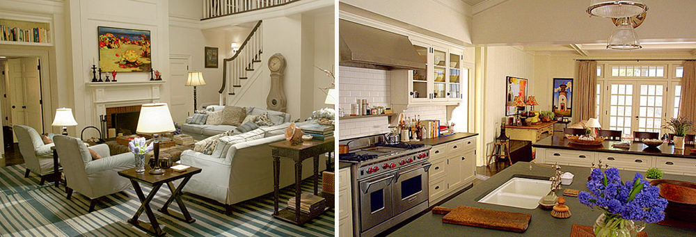 """Diane Keaton's home in the movie """"Something's Gotta Give"""""""